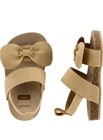 Carters Buckle Bow Sandal