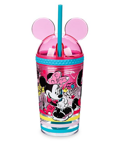 Minnie Mouse Snack & Drink Cup with Straw/Spoon