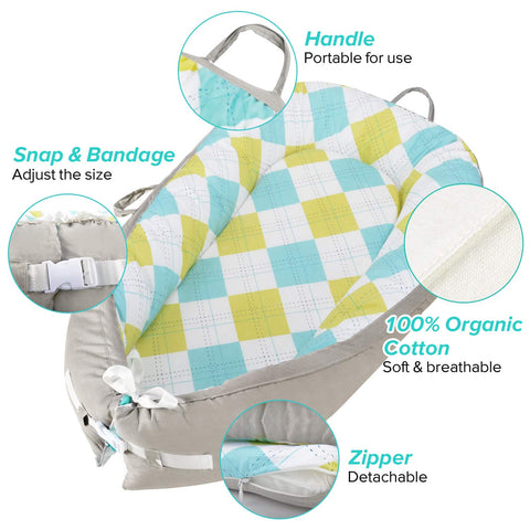 Infantino  Baby Lounger Baby Nest