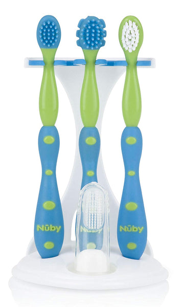 Nuby 4 Stage Oral Care Set System