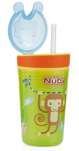Nuby 2in1 Snack & Sip Cup