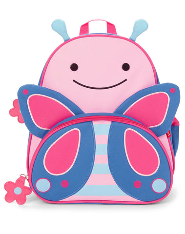 Skip Hop Zoo Little Kid Backpack & Lunchie - Butterfly