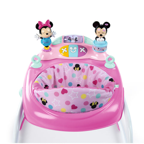 Bright Start Disney Minnie Mouse Walker with Activity Station