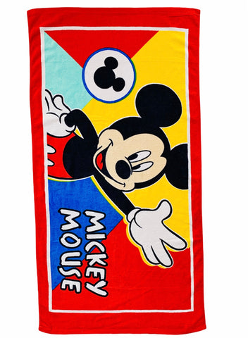 Mickey Mouse Terry Towel