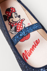 Minnie Mouse Glittery Flats