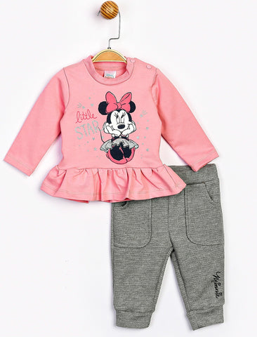 Minnie Mouse Tee & Joggers Set -16102