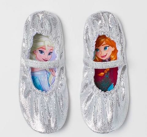 Frozen Shimmering Dance Shoes