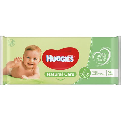 Baby Wipes with Aloe Vera Huggies Wipes 56
