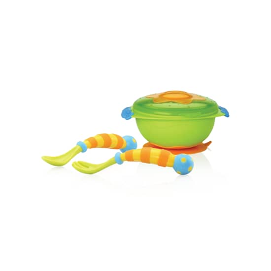 Nuby Wacky Suction Bowl Set