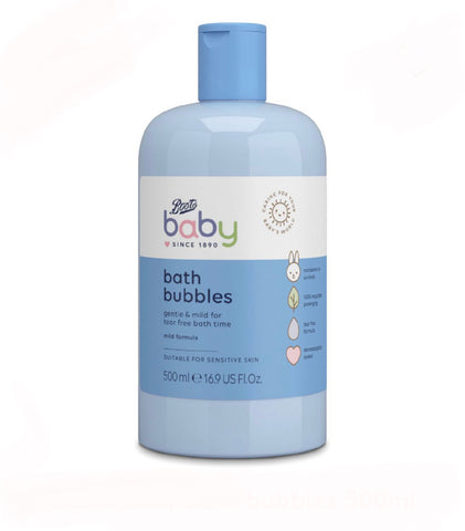 Boots Baby bath bubbles 500ml