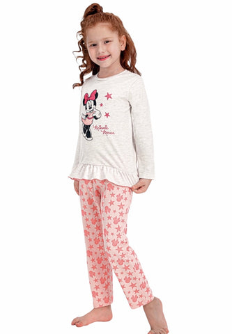 Minnie Mouse Girls Pyjamas Set