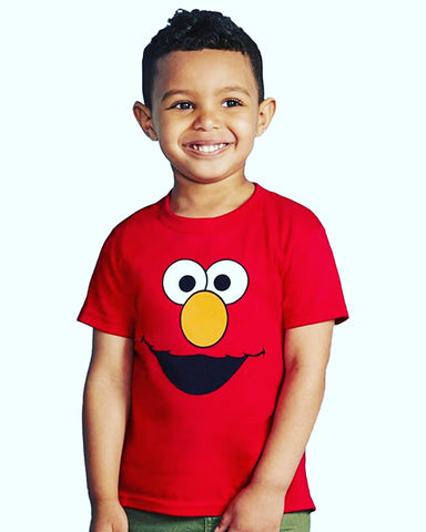 Elmo Boys T-Shirt - Red