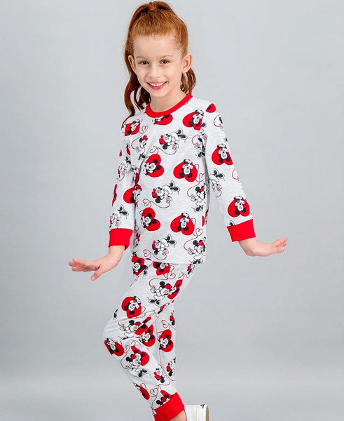 Minnie Mouse Girls Jammies - Red