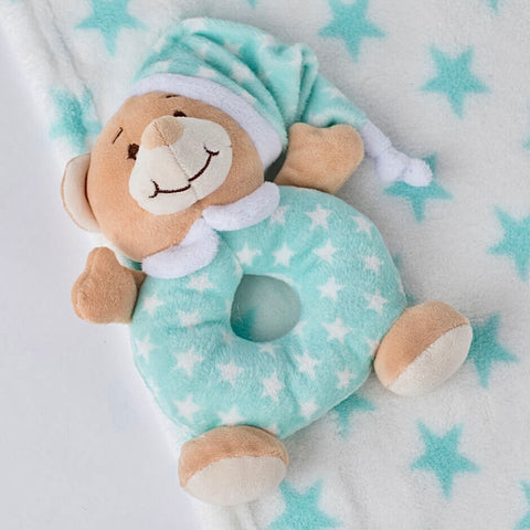 Snuggle Up Blanket & Rattle Set