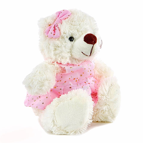 Teddy Bear In A Dress Soft Toy