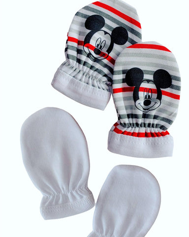 Disney Baby Mickey Mouse Mitts - Red