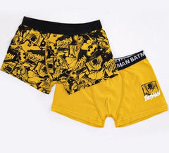 Batman Boys Boxer Briefs - Yellow