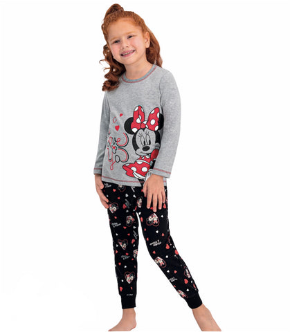 Minnie Mouse PJ PALS - Grey/Black