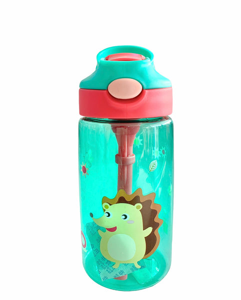 Hedgehog Straw Water Bottle