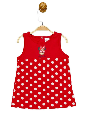 Baby Girl Minnie Mouse Polka Dot Dress