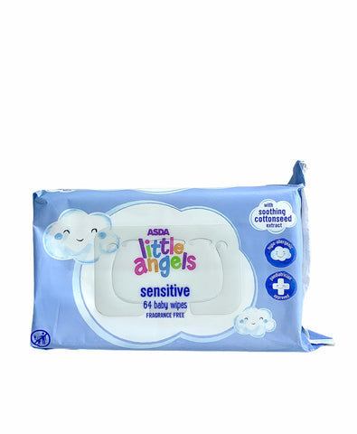 Little Angels Baby Wipes - 64count