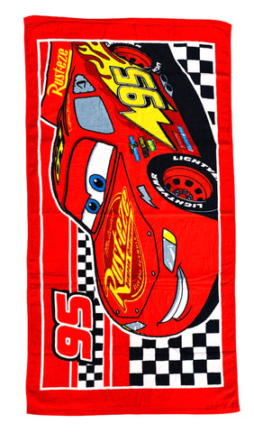 Lightening McQueen Terry Towel