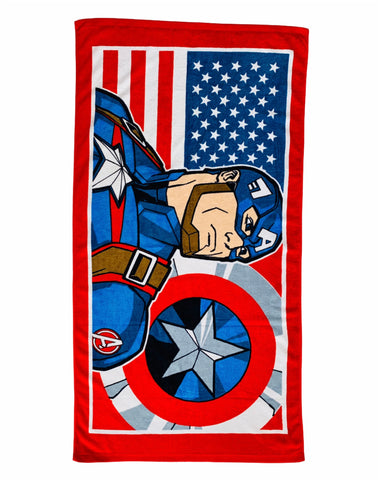 Captain America Terry Towel