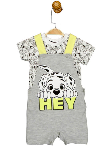 Disney 101 Dalmatians Dungaree Set for Baby