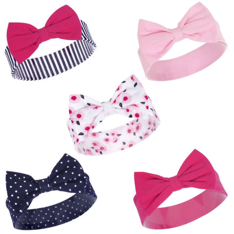 Hudson Baby Headbands 5-Pack