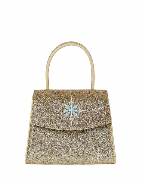 Girls Shimmer Snowflakes Purse