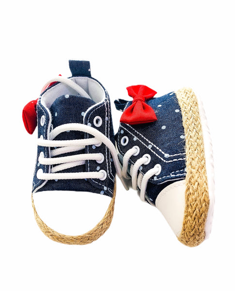 Freesure Bowtastic Denim Shoe