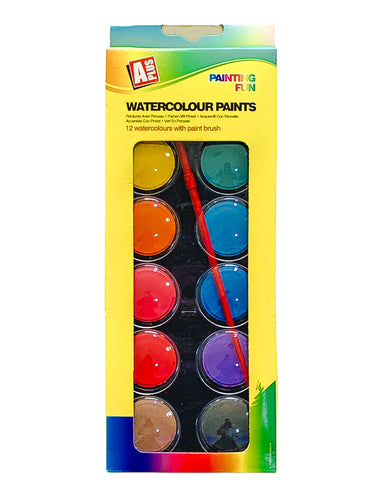 Water Color Paints - 12