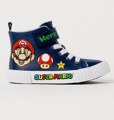 H&M Mario Hi-Top Sneakers
