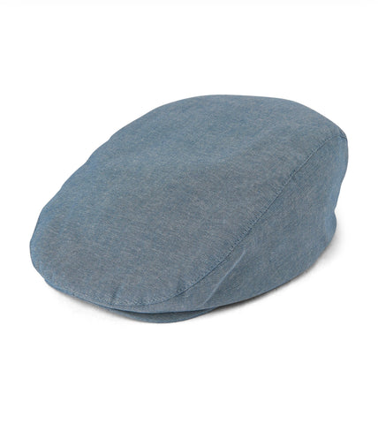 Boys Chambray Newsboy Hat