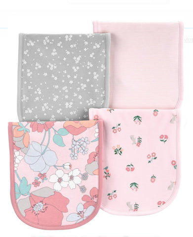 Carter's Baby 4-Pack Floral Burp Cloths