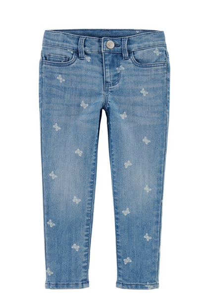 Oshkosh Butterfly Girls Denim Pant