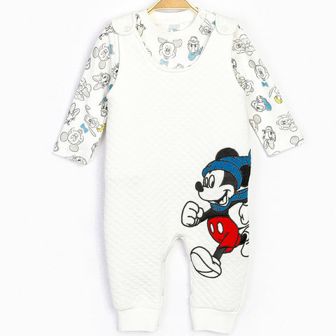 Mickey Mouse Baby Boy Romper Set