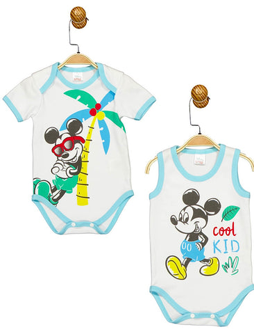Mickey Mouse 'Cool Kid' Bodysuit - 2PC