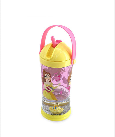 Belle Snowglobe Tumbler with Straw – Beauty and the Beast