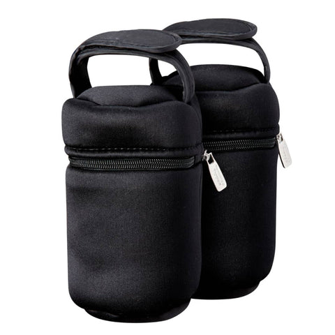 Tommee Tippee Insulated Bottle Bag and Bottle Cooler - 2 Count