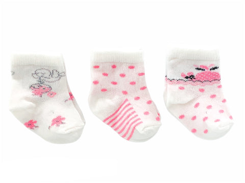 Mungan 3-Pack Socks - Dots