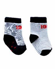 Mungan 2-Pack Socks - Stripe
