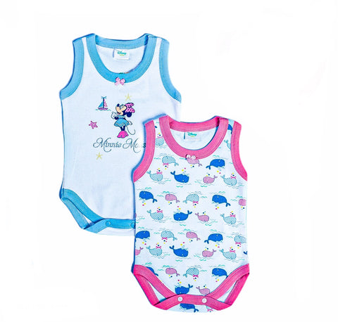 Disney Minnie Sleeveless Bodysuits - 12755