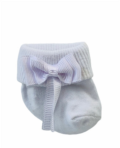 Mungan Baby Socks - White