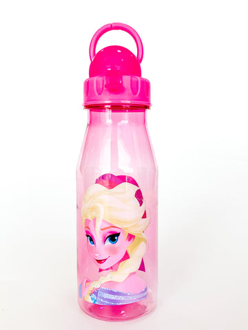 Disney Straw Water Bottle