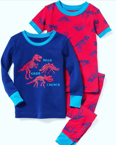 Dino Jammies - 2 Tops & 1 pant