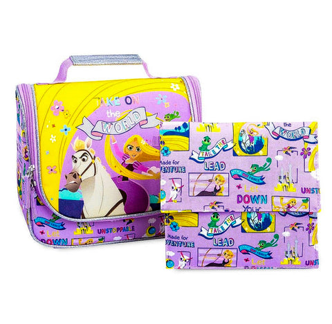 Rapunzel Backpack + Lunchie + Sandwich Pouch