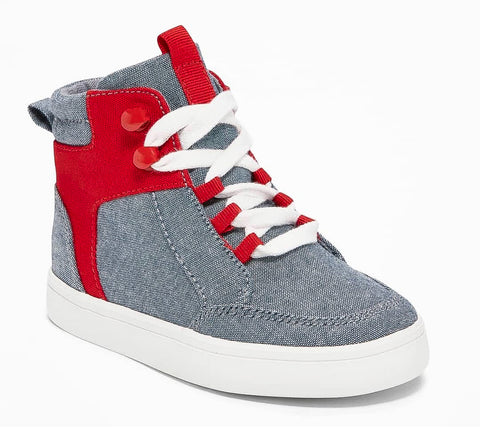 Oldnavy High-Top Sneakers - Red