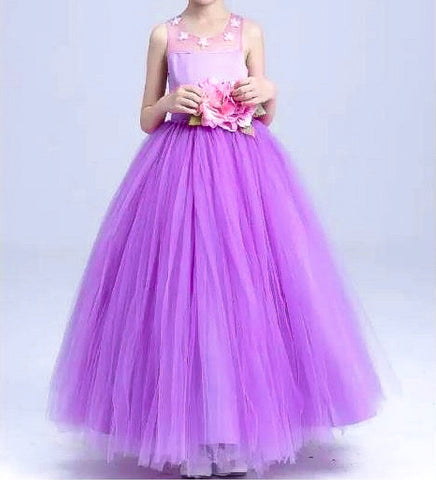 Princess Tutu Dress - Purple