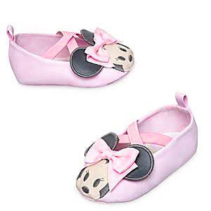 Minnie Mouse Baby Shoes